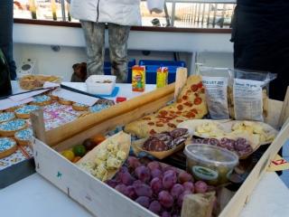 Catering voor bij je zeevis trip