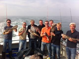 Wrakvissen kabeljauw