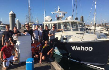 Vangstberichten 25 augustus 2016